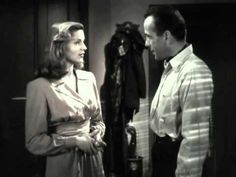 """""""To Have and Have Not"""" is a 1944 romance-war-adventure film, starring Humphrey Bogart and Lauren Bacall, in her first film.  This is also where they first met and fell in love.  They loved each other intensely until the day of his death.  They're love story is fascinating!"""