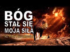 Ks. Piotr Pawlukiewicz - Bóg stał się moją siłą. Duchowość mężczyzny. - YouTube Reflection, God, Asia, Movie Posters, Life, Dios, Film Poster, Allah, Billboard
