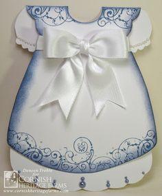 Dress Shaped Card, template found at http://www.stampington.com/temptingtemplates/pdfs/SAM0606.pdf