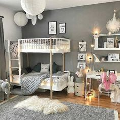 There are a lot of natural ways of decorating your bedroom. For example, you can use natural gifts like wonderful looking sea shells, glass, pine cones etc. Using these items can result in a brilliant texture to the bedroom decoration. Kids Bedroom, Bedroom Decor, Light Bedroom, Bedroom Ideas, Modern Bedroom Design, Cheap Home Decor, Bunk Beds, Decoration, Toddler Bed