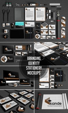 Buy Branding / Identity / Stationery Mockups by kongkow on GraphicRiver. Branding / Identity / Stationery Mockups Branding Identity Stationery Mockups, there are 9 positions and 9 files. Event Branding, Branding Design, Logo Design, Corporate Branding, Mockup Templates, Photoshop, Business Card Design, Marketing, Brand Identity