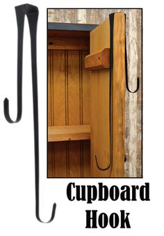 Large Cupboard Hook $8.45- Kruenpeeper Creek Country Gifts