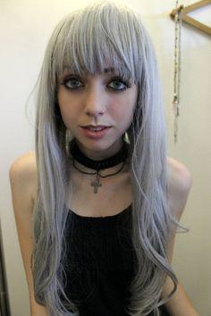 pastel goth, gothic choker poison tragic