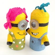 COOL IDEAS: HOW TO MAKE TOILET PAPER MINIONS