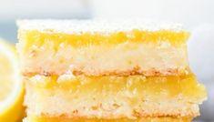 EASY LEMON BARS Lemon Mousse Recipe Easy, Lemon Pie Recipe, Blind Bake Pie Crust, Easy Pie Crust, Delicious Cookie Recipes, Yummy Cookies, Homemade Pie, Lemon Bars, Cookies Ingredients