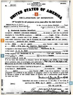 Tracking Down Ancestors' Naturalization Records - Family Tree Magazine If you have immigrant ancestors, you need to know how to locate naturalization records. Find and analyze these records using our expert tips. Free Genealogy Sites, Genealogy Forms, Genealogy Chart, Genealogy Research, Family Genealogy, Free Genealogy Records, Genealogy Humor, Lds Genealogy, Genealogy Organization