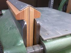 Backing irons on nipping press http://www.affordablebindingequipment.com