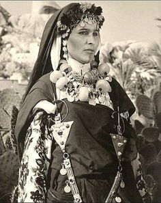 Amazigh woman from Morocco