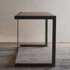 Suspended Wood and Metal Desk Modern Industrial... in Santa Monica, CA, USA ~ Krrb