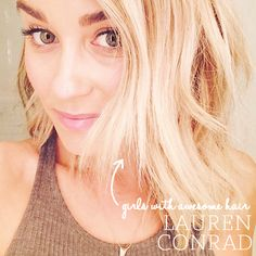 Girls With Awesome Hair: Lauren Conrad | Cupcakes & Cashmere