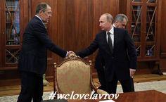 #PutinGirls #welovelavrov