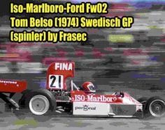 F1 Paper Model - 1974 Swedish GP Iso-Marlboro-Ford Williams FW02 Paper Car Ver.2 Free Template Download - http://www.papercraftsquare.com/f1-paper-model-1974-swedish-gp-iso-marlboro-ford-williams-fw02-paper-car-ver-2-free-template-download.html#124, #Car, #F1, #F1PaperModel, #FormulaOne, #FW02, #PaperCar, #Williams, #WilliamsFW, #WilliamsFW02