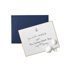 Letterpress Anchor Notecards #makeyourmark