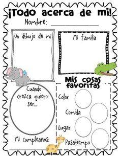 Documento para el primer día de clase en la escuela. Recursos para maestros y profesores