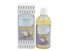 Lavanda (Lavender) Bath Foam by L'Erbolario Lodi by L'Erbolario Lodi. $19.00. Lavender Bath Foam by L'Erbolario, Lodi, is a rich moisturizing bath product for daily use in shower or bath.Lavender fragrance has always been synonymous with freshness and purity. It is a clean, subtle fragrance which is not too floral or overpowering.Each non-breakable bottle contains 8.8 fluid ounces (250 ml.) of Lavender Bath Foam by L'Erbolario.We regret that we are unable to ship this item to C...