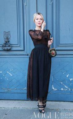 Russian Fashion.  Ulyana Sergeenko. Street style. #fashion #UlyanaSergeenko