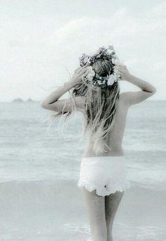 Jade Eyes, Light Mint Green, Past Life, Mermaid, Sea, Baby Blue, Image, Bottle, Summer