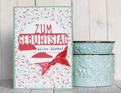 Birthday card / Geburtstagskarte - www.conibaer.de #stampinup