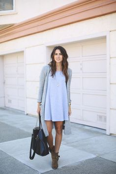 25 cute long cardigan outfits to try this fall - informal dresses