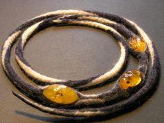 Felt with amber necklace Paulina Binek  http://a1.ec-images.myspacecdn.com/