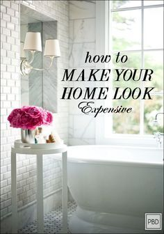 How to Make your Home Look Expensive! Sometimes you can afford professional home staging services. Here are some tips for making your home look great!