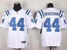 Men's NFL Indianapolis Colts #44 Ahmad Bradshaw Royal Blue Elite Jersey