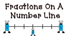 Fractions On A Number Line Freebie