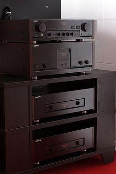 Sony ES TA-E80ES TA-N80ES Combo | Sony ES 2 Channel system w… | Flickr
