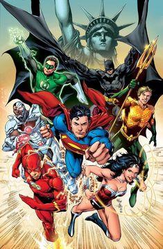 Justice League by Ivan Reis