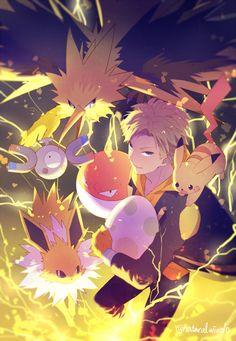 Pokemon spark team instinct