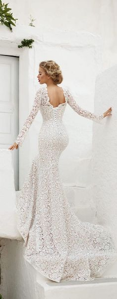 Wonderful Perfect Wedding Dress For The Bride Ideas. Ineffable Perfect Wedding Dress For The Bride Ideas. Stunning Wedding Dresses, Wedding Dresses 2018, Wedding Attire, Bridal Dresses, Beautiful Dresses, Gorgeous Dress, Elegant Wedding, Perfect Wedding, Long Sleeve Wedding