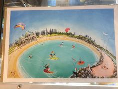 """Cottesloe """"A day at the beach"""""""