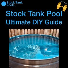 Keep your stock tank pool clean and clear (and BLUE) with a built-in filter pump! Click 👆 for the SIMPLE three step guide and parts list! im garten videos EASY Stock Tank Pool DIY: 3 Steps to Your Own Backyard Pool Oasis! Pool Diy, Diy Swimming Pool, Stock Pools, Stock Tank Pool, Above Ground Pool, In Ground Pools, Diy In Ground Pool, Jacuzzi, Piscina Diy