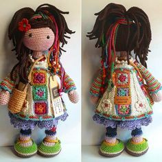 Crochet pattern for doll dawn pdf deutsch english français nederlands español – Artofit What an impressive and inspiring crocheted artwork! Awww this crochet doll would make a lovely gift for a little girl needing a companion to cuddle. Best Crochet A Crochet Dolls Free Patterns, Crochet Doll Pattern, Knit Or Crochet, Amigurumi Patterns, Doll Patterns, Crochet Toys, Crochet Fairy, Doll Tutorial, Knitted Dolls