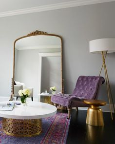 Pastels, glittery golds, indigo blues and super zingy colour pops, these are all trends for this year. It's time to set your home trendy with this interior design inspiration!