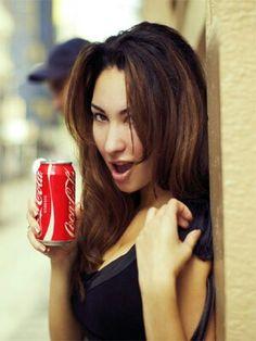 Coca-Cola girl