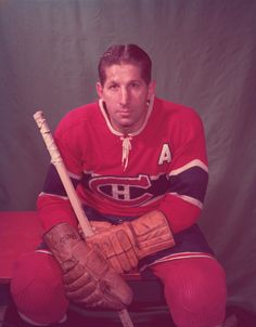 Autograph Authentic Elmer Lach Montreal Canadiens Autographed Color Pose 16 x 20 in. Photo, As Shown Hockey Games, Hockey Players, Ice Hockey, Montreal Canadiens, Nhl, Toronto, Wayne Gretzky, Sports Figures, National Hockey League