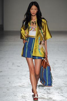 Stella Jean Spring 2015 Ready-to-Wear Fashion Show