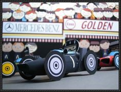 This paper car toy is a 1962 version BRM the paper model is designed by Ichiyama. The BRM as B. refers, was a racing car, built and Paper Car, Fourth World, Germany And Italy, Monaco Grand Prix, F1 Racing, Paper Models, Paper Crafts, Templates, Free