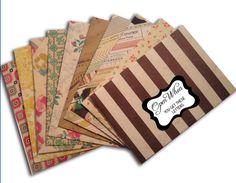 "10 ""Open When"" Envelopes for Open When Letters - Decorative Envelopes - Letters for Best Friend - Military Gift - Pretty Envelopes"