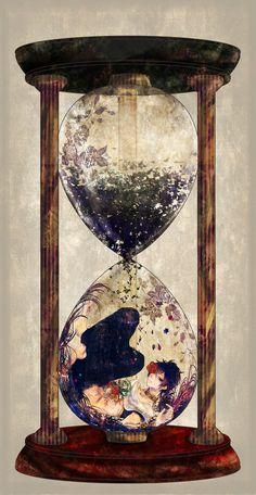 Inside an Hourglass! - pixiv Spotlight