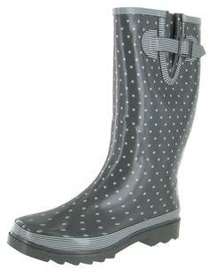 Chooka Classy Classic Women's Rain Boots Rubber Wellies. Click here for more Women's Rain boots http://www.streetmoda.com/search?q=women%27s+rain+boots&type=product&search-button.x=-1108&search-button.y=-107 from Streetmoda.com