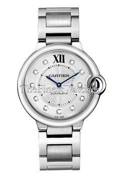 10210676523 Cartier Ballon Bleu 36mm Watch - WE902075. Round steel case (36.6mm  diameter x