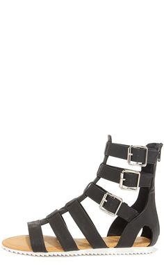 Gait Keeper Black Gladiator Sandals 3623e8ce614