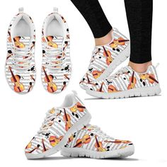 Now selling: Violin Shoes. Womens Sneakers http://oompah.shop/products/violin-shoes-womens-sneakers