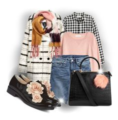 """""""H&M Style, peachy!"""" by interesting-times ❤ liked on Polyvore featuring H&M and Pokemaoke"""