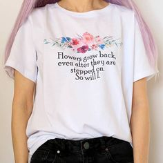 So Will I T-Shirt - Quote Shirts Fashion - Ideas of Quote Shirts Fashion - Soft Grunge Outfits, Grunge Style, Pastel Grunge, Edgy Outfits, Cute Outfits, Fairy Outfits, Pastel Punk, Hipster Style, Tumblr Outfits