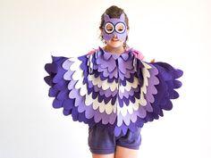 Kinder Eule Kostüm Kinder Bird Wings und Maske von BHBKidstyle