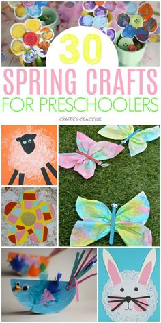 30 Easy and Fun Spring Crafts for Preschoolers