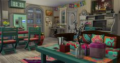 Sims Building, Building Ideas, Sims 4 House Plans, Sims 4 House Design, Casas The Sims 4, Sims 4 Build, Sims 4 Houses, Sims 4 Mods, Sims 4 Custom Content